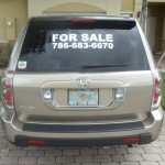 For Sale sticker