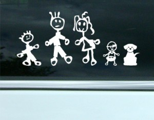 Family Stickers Example