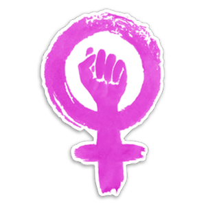 Female Sign Sticker
