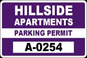 Parking Permit Example