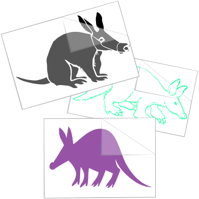 Aardvark Car Stickers and Decals