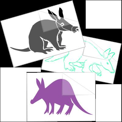 Fun Animal Car Stickers Animal Window Decals