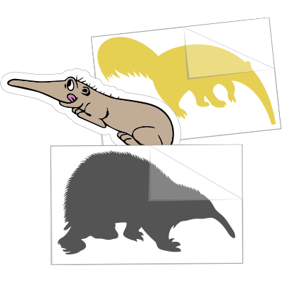 Anteater Car Stickers and Decals