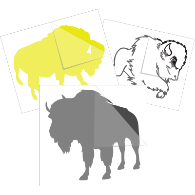 Buffalo Car Stickers and Decals