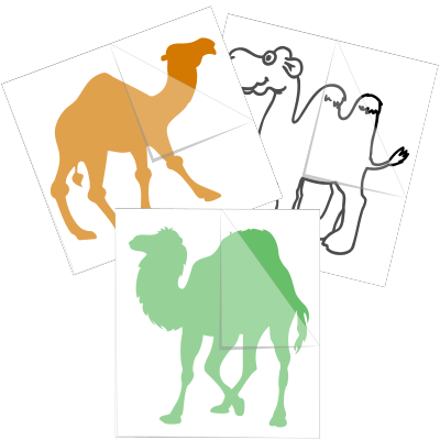 Camel Stickers and Decals