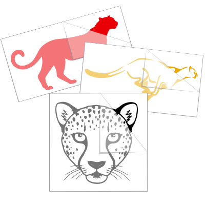 Cheetah Car Stickers and Decals