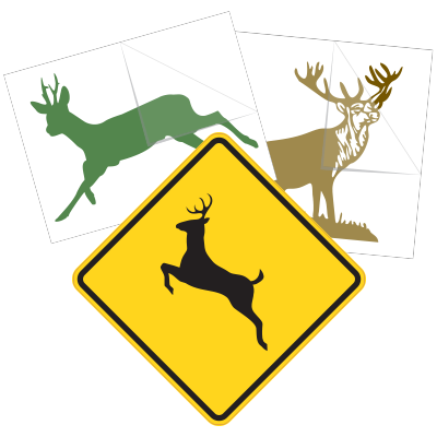 Deer Stickers and Decals