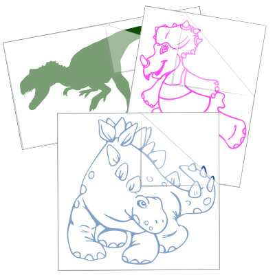Dinosaur Stickers and Decals