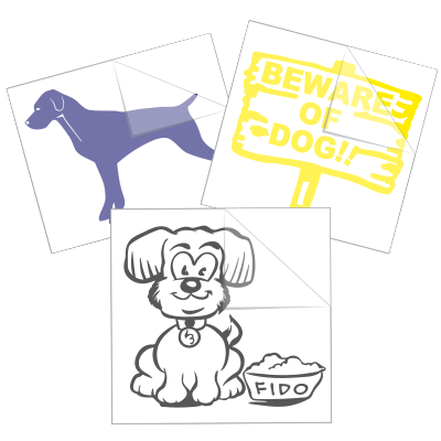 Dog Car Stickers and Decals