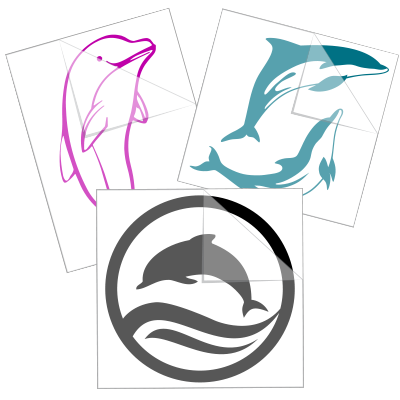 Dolphin Stickers and Decals