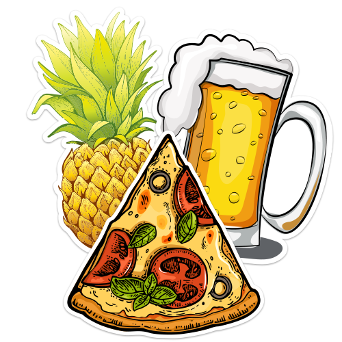Food and Beverage Stickers And Decals