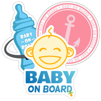 Baby on Board Car Stickers and Decals