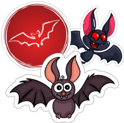 Bat Stickers and Decals