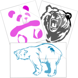 Bear Stickers and Decals