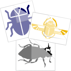 Beetle Car Stickers and Decals