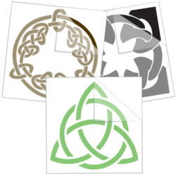 Celtic Knot Stickers Decals Free Shipping In The Us