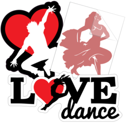 Dance Car Stickers and Decals