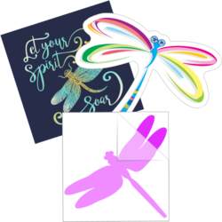 Dragonfly Car Stickers and Decals