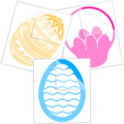 Easter Car Stickers and Decals
