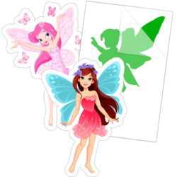 Fairy Car Stickers and Decals