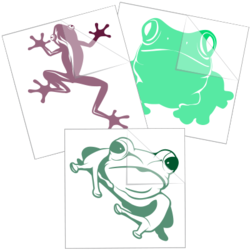 Frog Toad Stickers and Decals