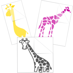 Giraffe Car Stickers and Decals