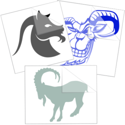 Goat Stickers and Decals