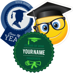 Graduation Car Stickers and Decals