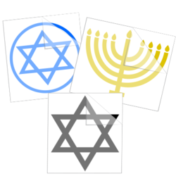 Hanukkah Car Stickers and Decals