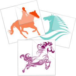 Horse Car Stickers and Decals