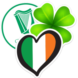 Ireland Car Stickers and Decals