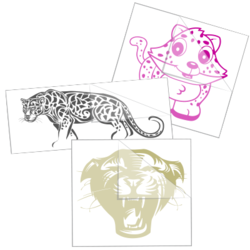 Jaguar Stickers and Decals