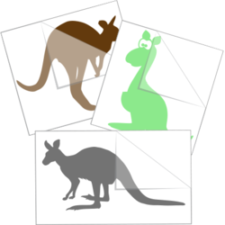 Kangaroo Car Stickers and Decals