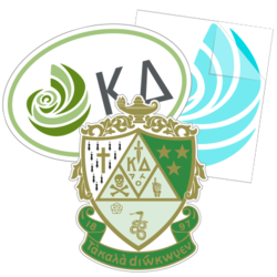 Kappa Delta Car Stickers and Decals