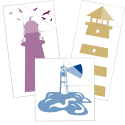 Lighthouse Car Stickers and Decals