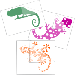 Lizard & Gecko Stickers and Decals