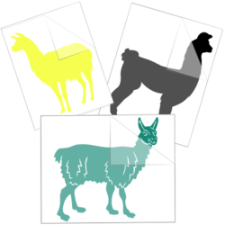 Llama Car Stickers and Decals
