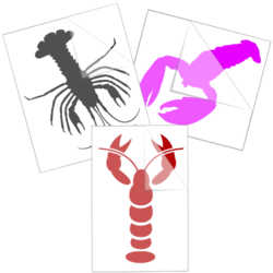 Lobster Stickers and Decals