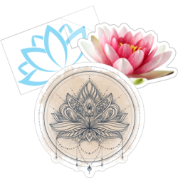 Lotus Flower Car Stickers and Decals