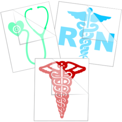 Medical Car Stickers and Decals