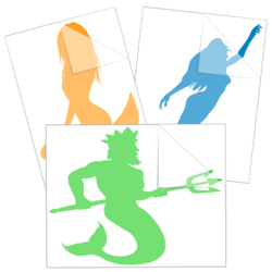 Mermaid Car Stickers and Decals