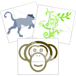 Monkey Stickers and Decals