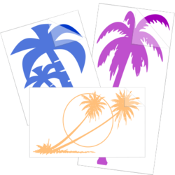 Palm Tree Car Stickers and Decals
