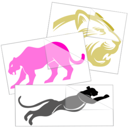 Panther Car Stickers and Decals