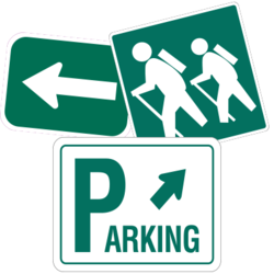 Directional Sign Car Stickers and Decals