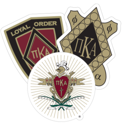 Pi Kappa Alpha Car Stickers and Decals