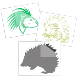 Porcupine Stickers and Decals