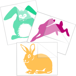 Rabbit Stickers and Decals