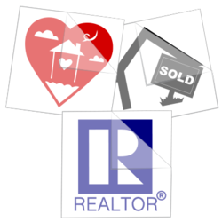 Real Estate Car Stickers and Decals