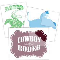 Rodeo Car Stickers and Decals